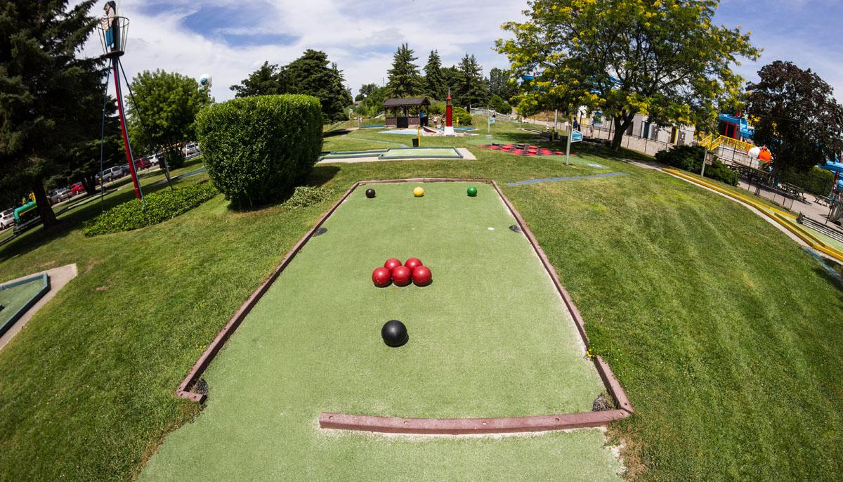 Outdoor East Park Golf Gardens London Ontario Canada