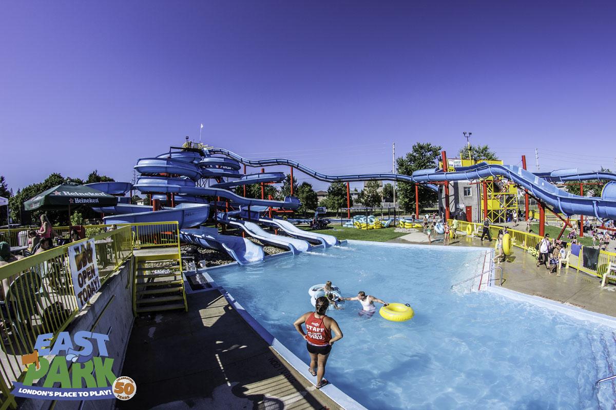 Waterpark East Park Golf Gardens London Ontario Canada Voucher The Jungle Waterboom Weekday Make A Splash